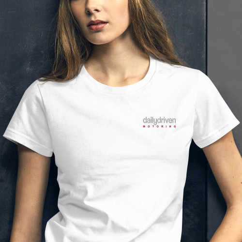 Daily Driven Motoring - Women's short sleeve t-shirt (Embroidered)