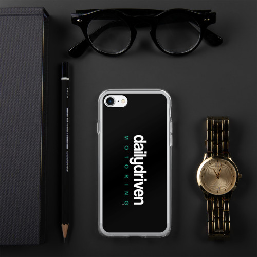 Daily Driven Motoring - Black iPhone Case