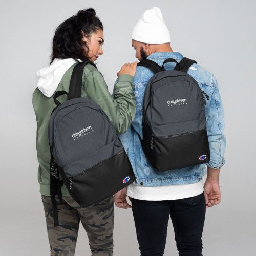 Daily Driven Motoring - Embroidered Champion Backpack