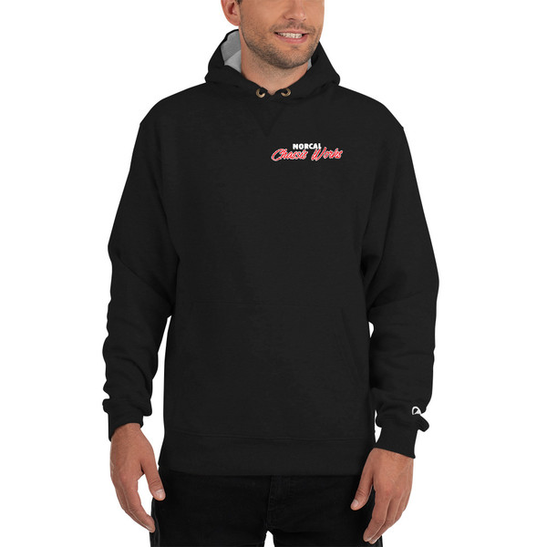 NorCal Chassis Works - Pull Over Hoodie by Champion (Embroidered)