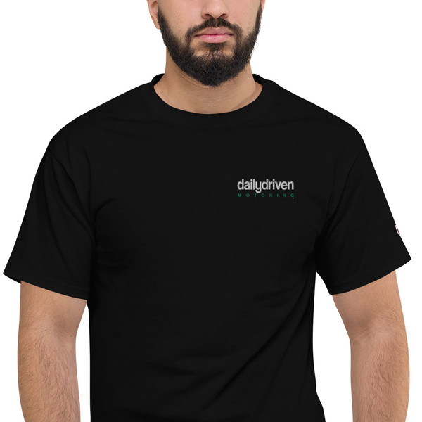 Daily Driven Motoring - Men's Champion T-Shirt (Embroidered)