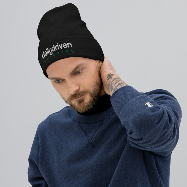 Daily Driven Motoring - Embroidered Beanie