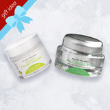Lexli Gift Idea, Let It Glow: 1 oz AloeGlyC and 1.6 oz Night Moisturizer