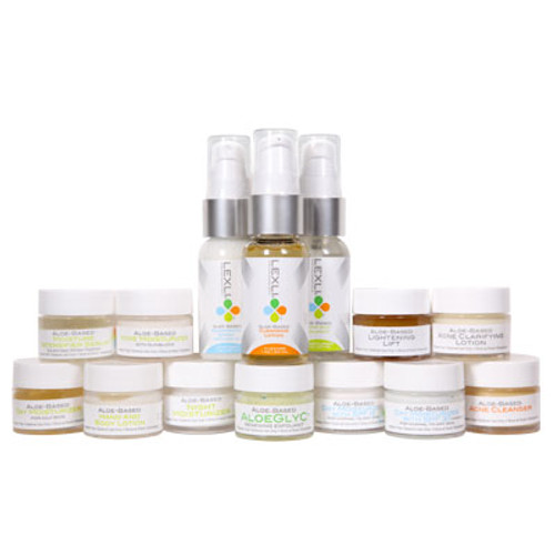 Get a free Lexli Skin Care sample with orders of $75 and up.