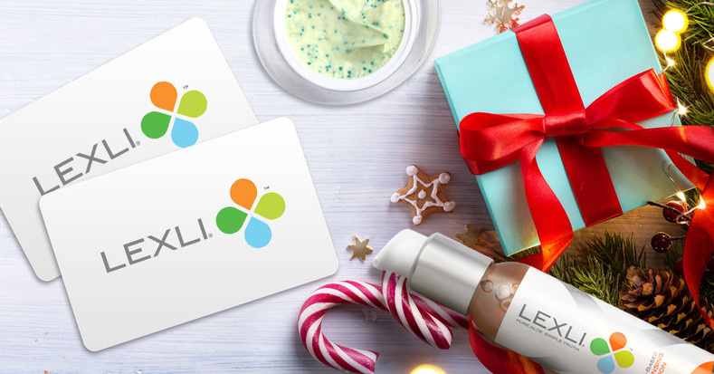 Give the Gift of Beautiful Skin & Get a Free $20 Lexli Gift Card!