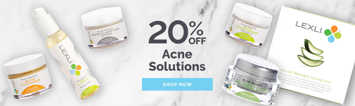 20% off Acne Solutions