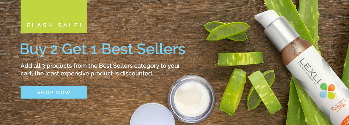 Today Only, Buy 2 Get 1 Best Sellers Category. Add all 3 products to your cart, the least expensive product will be discounted. Ends tonight!