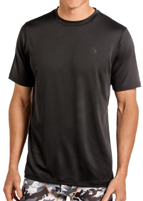 Performance Crew Neck T-Shirt - Black #UC-8766