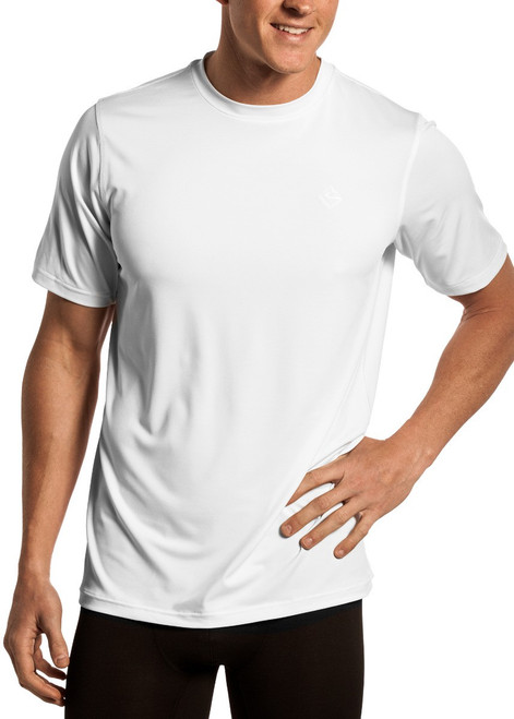 Performance Crew Neck T-Shirt - White #UC-8765