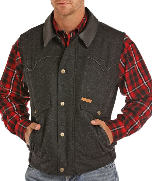 Holbrook Heather Wool Vest #98-5619