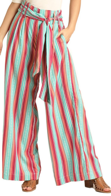 Wide Leg Striped Pants #72-4510