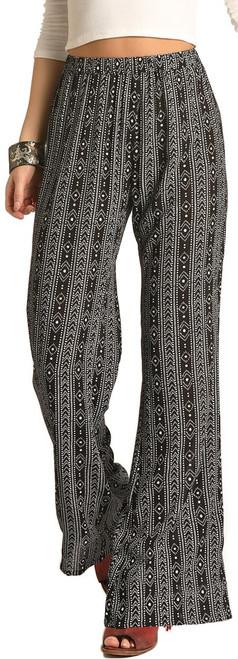 Aztec Print Flare Pants #72-4518