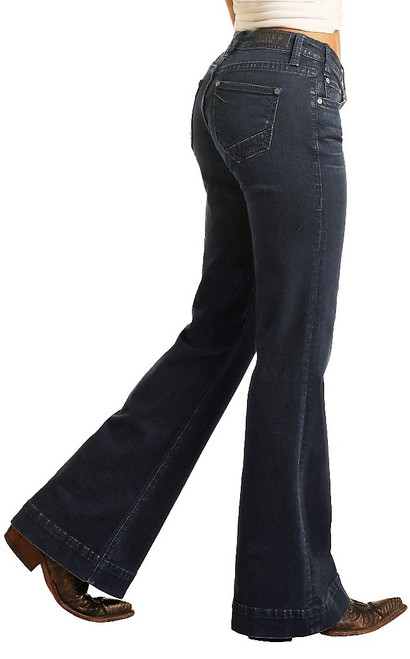 Mid Rise Extra Stretch Trousers #W8M4164