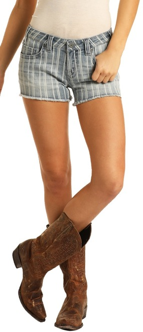 Low Rise Striped Shorts #68-5306