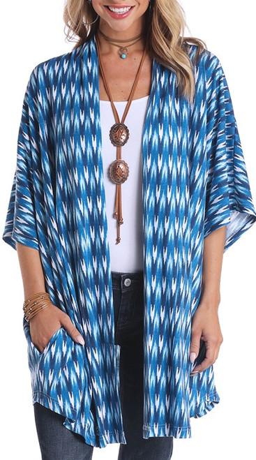 Chevron Knit Kimono #L9-5424