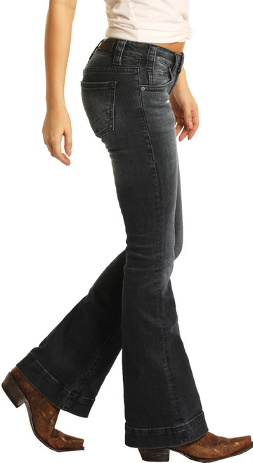 Low Rise Stretch Trouser Jeans #W8-8486