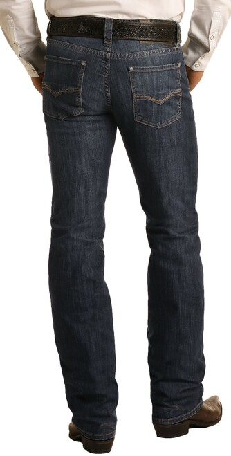 Slim Fit Stretch Straight Bootcut Jeans #M1R6205
