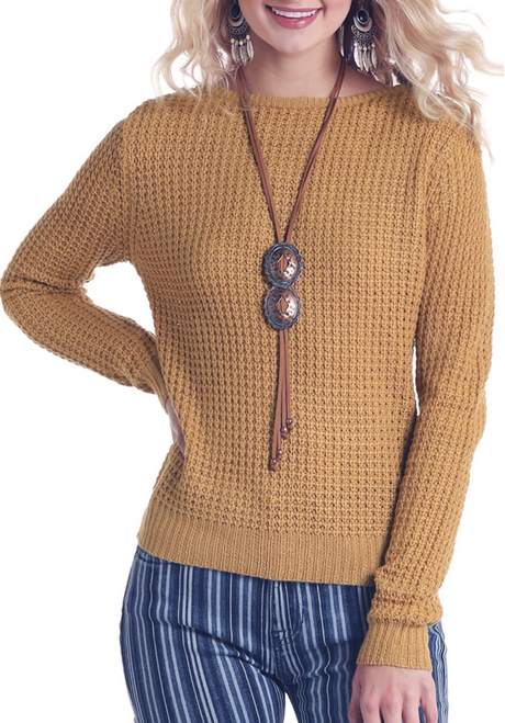 Cable Knit Sweater #J8-6836