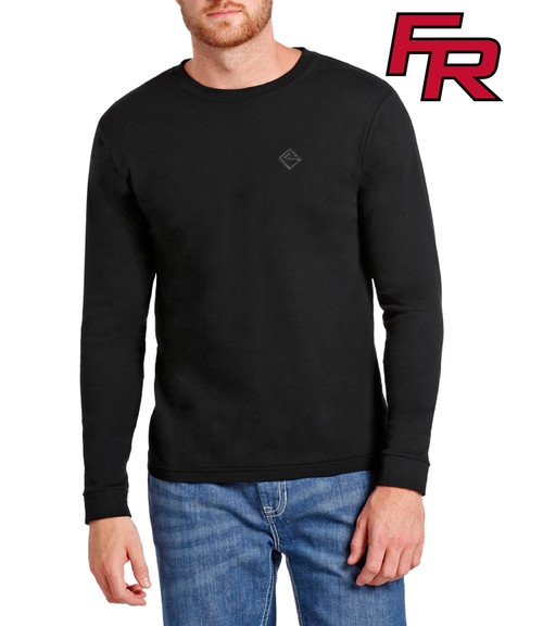 Flame Resistant Jersey Long Sleeve Work T-Shirt #F8-6714