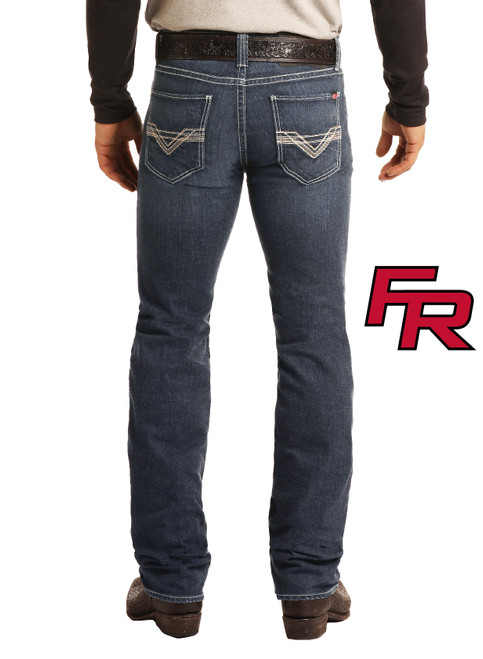 Flame Resistant Slim Fit Extra Stretch Straight Bootcut Jeans #F1R5828