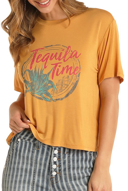 Tequila Time Cropped Tee #49T8411