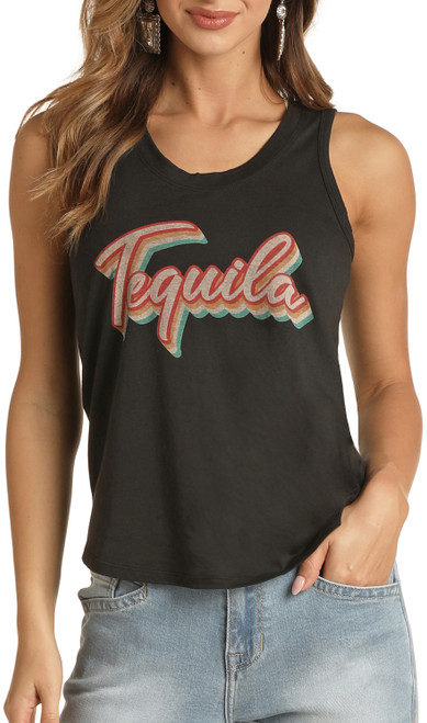 Tequila Graphic Tank #49-9924