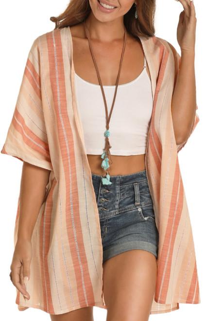 Striped Kimono #B4K9903