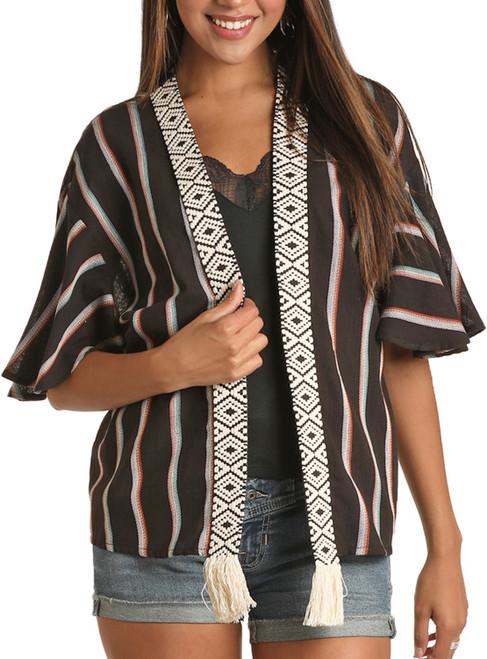 Serape Print Kimono #B4K9923