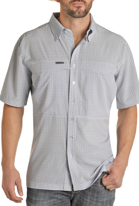 Relaxed Fit Performance Fishing Shirt #P1D9653