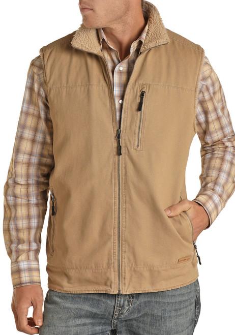 Canvas Rancher Vest #98-1028