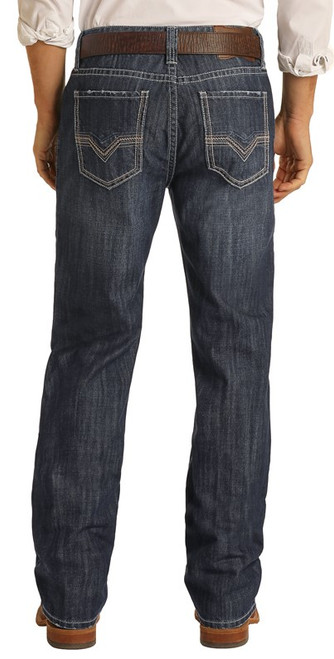Relaxed Fit Stackable Bootcut Jeans #MTB1751