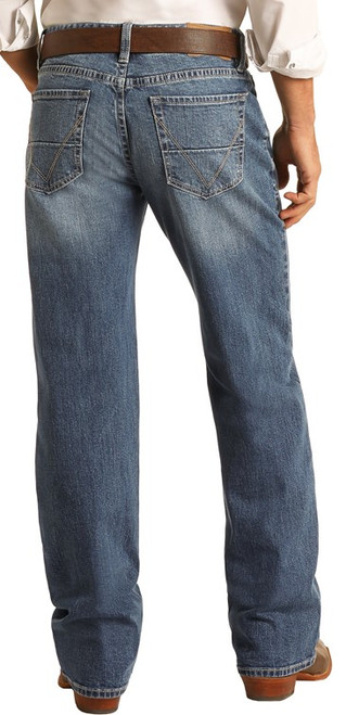Vintage '46 Relaxed Fit Stretch Straight Bootcut Jeans #M0S1791