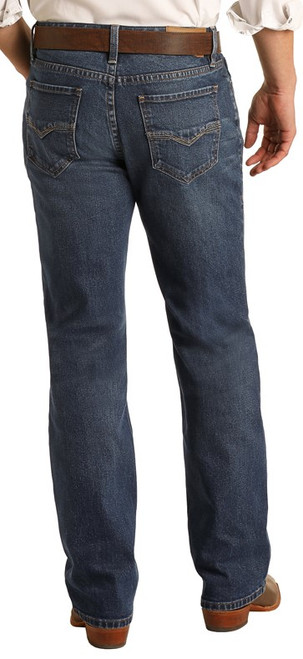 Vintage '46 Relaxed Fit Stretch Straight Bootcut Jeans #M0S1794
