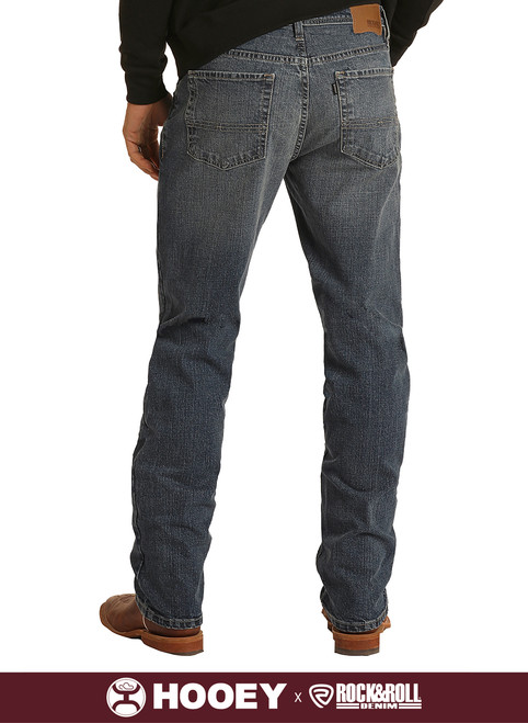 Hooey Relaxed Fit Stretch Stackable Bootcut Jeans #MTB1804