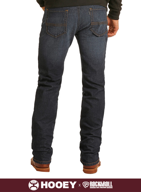 Hooey Slim Fit Stretch Straight Bootcut Jeans #M1R1806