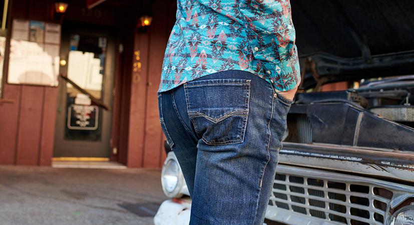 Men's Western Jeans
