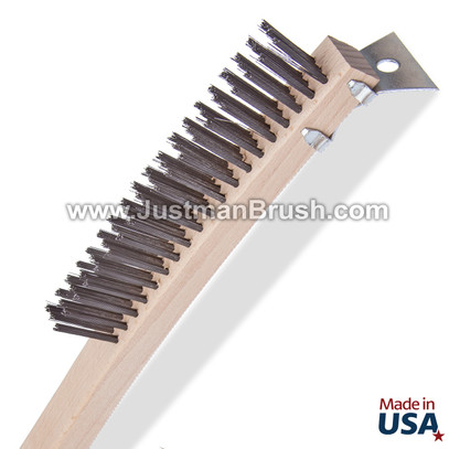 Curved Handle Brush - 3 x 19