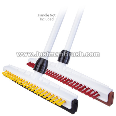 Hygienic Squeegee/Brush Combo