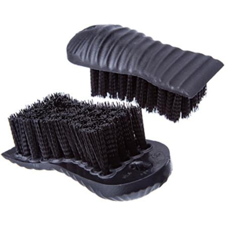 2 in 1 Utility Hand and Fingernail Scrub Brush Two Sided Nylon Bristle Block