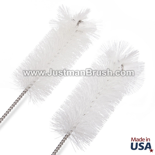 Stainless Steel Cylinder Brush - Radial Tip