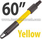 60 inch Yellow Fiberglass Handle