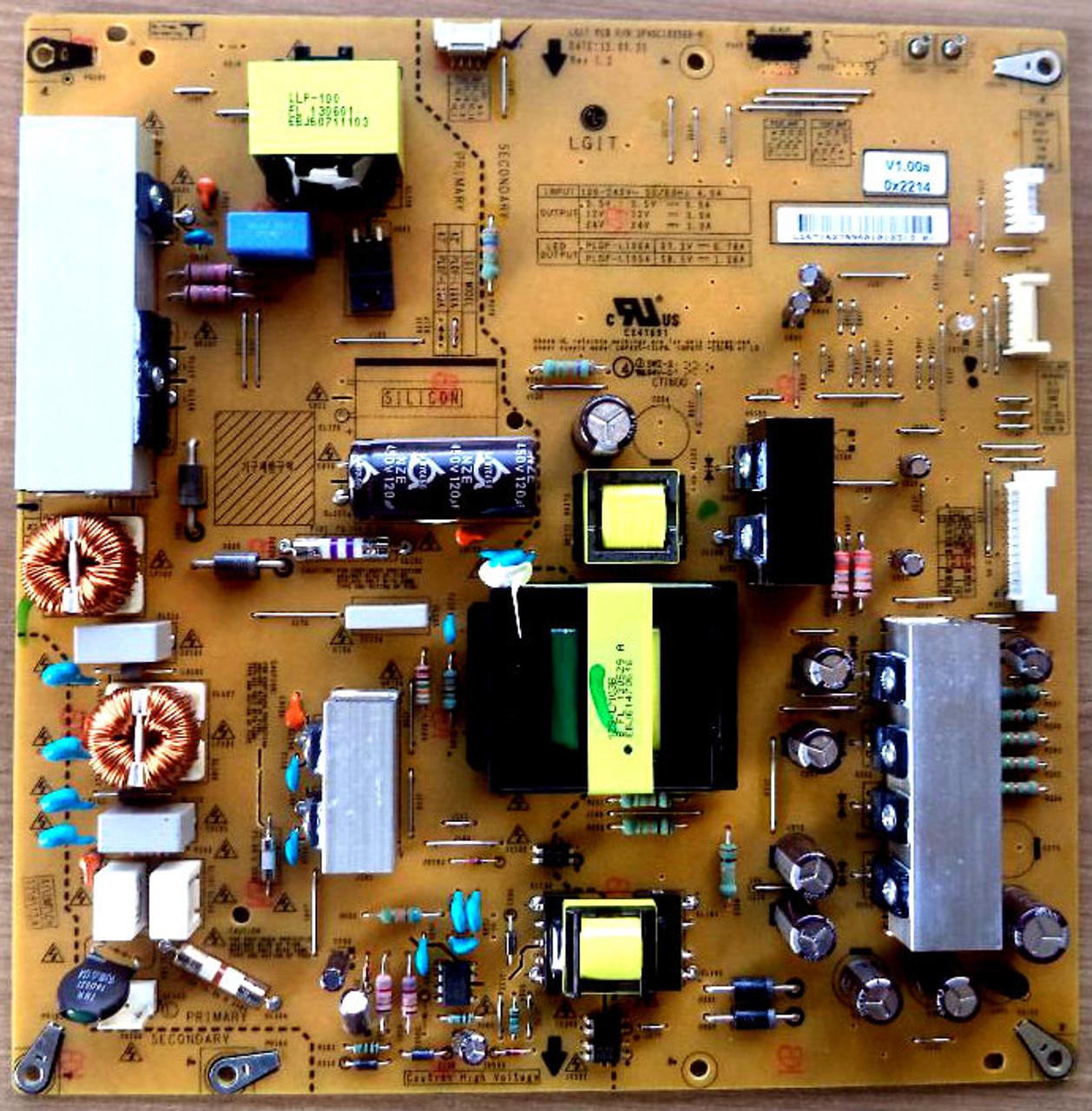LG EAY62789601 Power Supply / LED Board