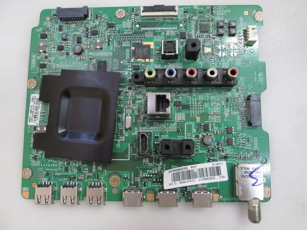 BN94-07410T Samsung Main Board for UN75H6350AFXZA