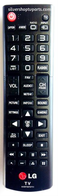 LG AKB73975711 Remote Control