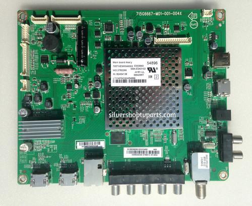 Vizio 756XECB02K036 Main Board for E390I-B1E