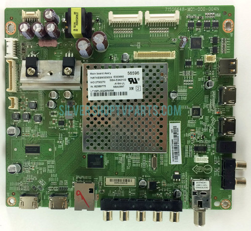 Vizio 756XECB02K037 Main Board for E500i-B1