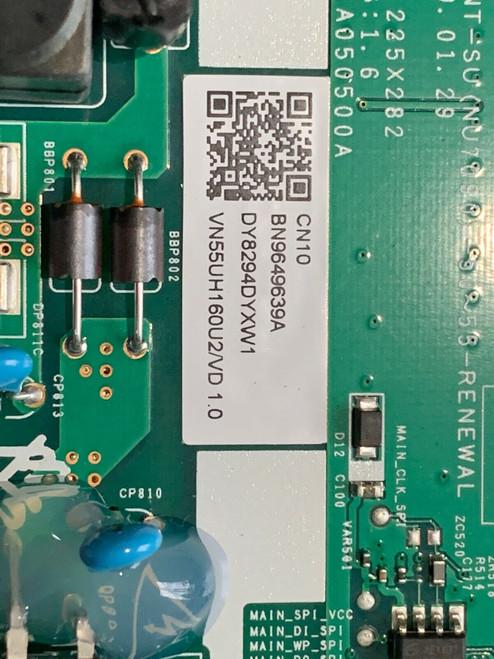 BN96-49639A Samsung Main Board Power Supply UN55NU6900FXZA (Ver CA02)