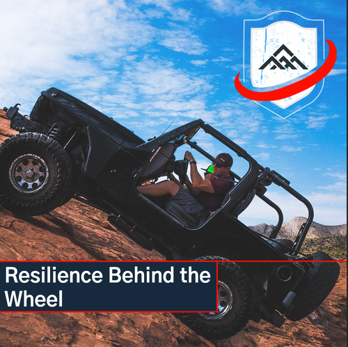 RESILIENCE, BEHIND THE WHEEL