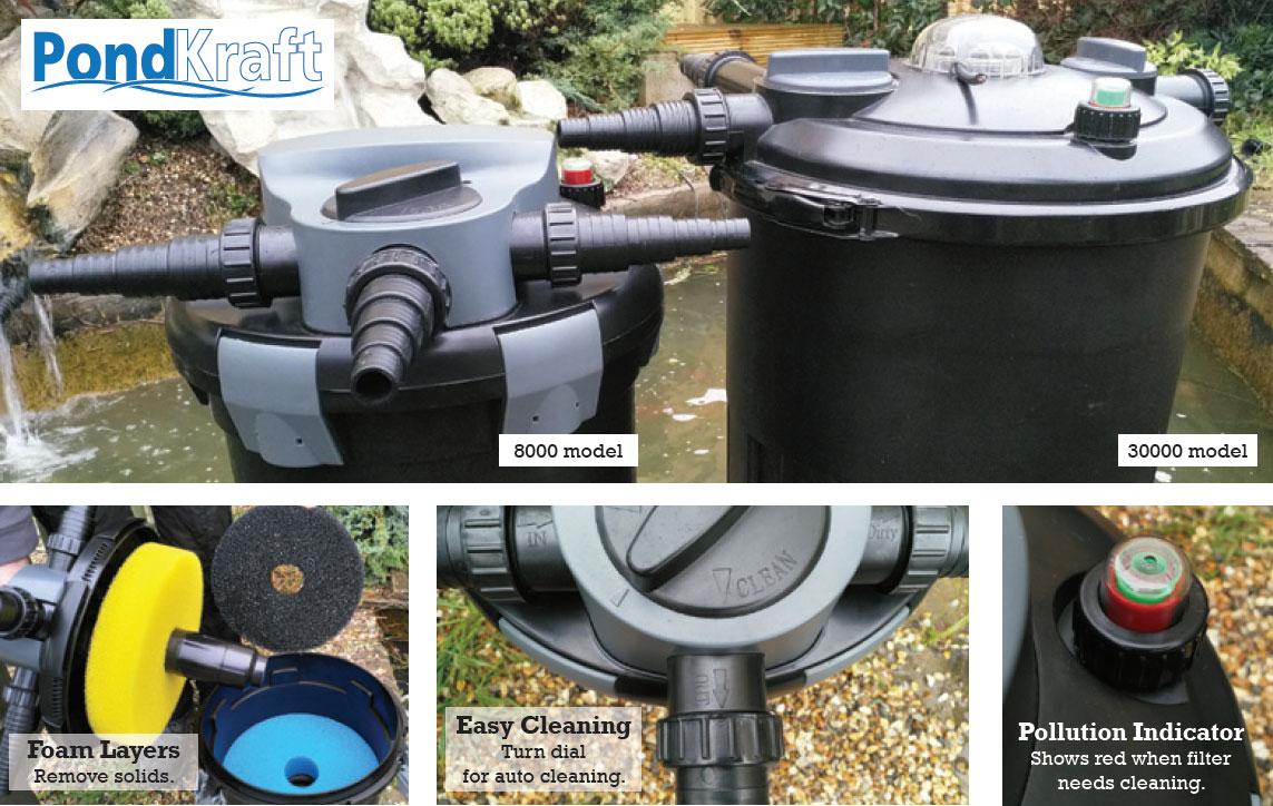 Pondkraft Pressurised Filter - Details