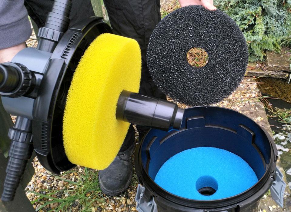 Pondkraft Pressurised Filter - Changing Foams